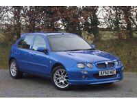 MG ZR+ 120 1.8 (2002) - Trophy Blue / 10mths MOT