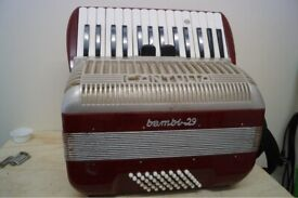 For sale Piano accordion