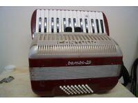 For sale Piano accordion