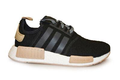 Mens Adidas NMD R1 - CQ0760 - Black Wool Khaki Trainers | eBay