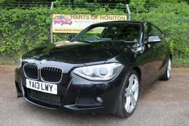 BMW 1 Series 125i M Sport 3DR (black) 2013