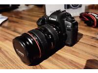 Canon EOS 5D Mark II + Canon 24-70mm f2.8 L USM Lens
