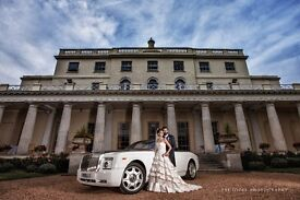 Wedding Car Hire, Rolls Royce phantom, Hummer Limo chauffeur from £295