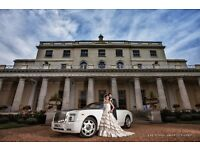 Wedding Car Hire -Vintage car- Prom- Limo Over 10 years experience Rolls Royce chauffeur from £295