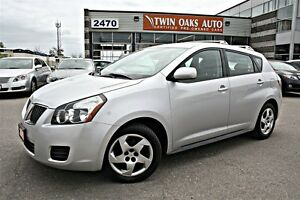 2010 Pontiac Vibe 5 SPEED - POWER GROUP - CERTIFIED!