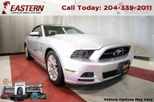 2014 Ford Mustang *CONVERTIBLE* 3.7L V6 LEATHER SHAKE SOUND SYS