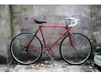 KALKHOFF, vintage racer racing road bike, 22.5 inch, 5 speed