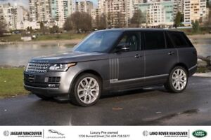 2016 Land Rover Range Rover V8 Supercharged LWB *Certified Pre-O