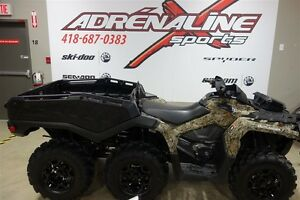 2015 can-am Outlander  6x6 1000 XT