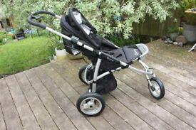 Quinny Speedi SX - 3 wheeler pushchair / pram