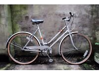 MISTRAL, 21 inch, vintage ladies womens dutch style traditional road bike, 3 speed