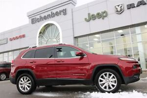 2016 Jeep Cherokee Limited 4x4 *ONE OWNER/EXTENDED WARRANTY*