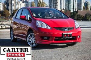 2011 Honda Fit Sport + LOW KMS + ACCIDENTS FREE + LOCAL!