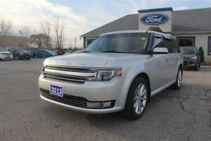 2015 Ford Flex Limited NAV LEATHER 7 PASS AWD