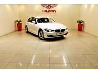 BMW 3 SERIES 2.0 318D SE 4d AUTO 141 BHP NO DEPOSIT NEED - DRIV (white) 2013