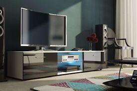 MODERN HIGH GLOSS TV UNIT, .}, TV CABINET , TV STAND - HIGH QUALITY, FLATPACK