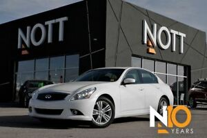 2013 Infiniti G37X AWD, Nav, Backup Cam, Moonroof, Only 55, 465