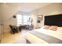 **BRAND NEW STUDIO - FURNISHED - ALL BILLS - COMMUNAL KITCHENS - AVAILABLE TO VIEW**