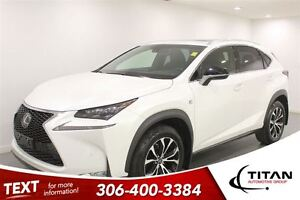 2015 Lexus NX 200t F Sport|AWD|DVD|Heated Leather