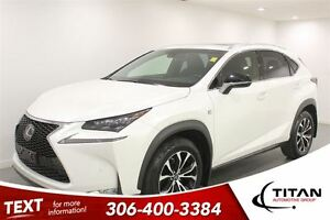 2015 Lexus NX 200t F Sport|AWD|Cam| Leather|Bluetooth