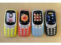 Nokia 3310 sim free brand new boxed