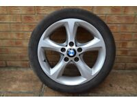 bmw 1 series alloys 17 also BMW Business stereo & Cargo net for boot