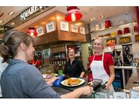 FT & PT team members needed at Square Pie Westfield London & Westfield Stratford