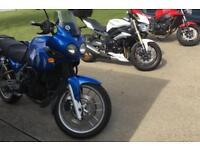 B+E CBT DAS Triumph Motorcycles for DAS