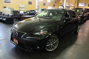 2015 Lexus IS 250 AWD REAR CAM LEATHER SUNROOF 18ALLOYS.