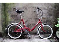 PUCH PIC-NIC, vintage shopper folding bike, 3 speed