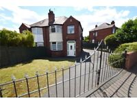 SHORT TERM LET (MONTH TO MONTH) 3 BEDROOM SEMI DETACHED FULLY FURNISHED