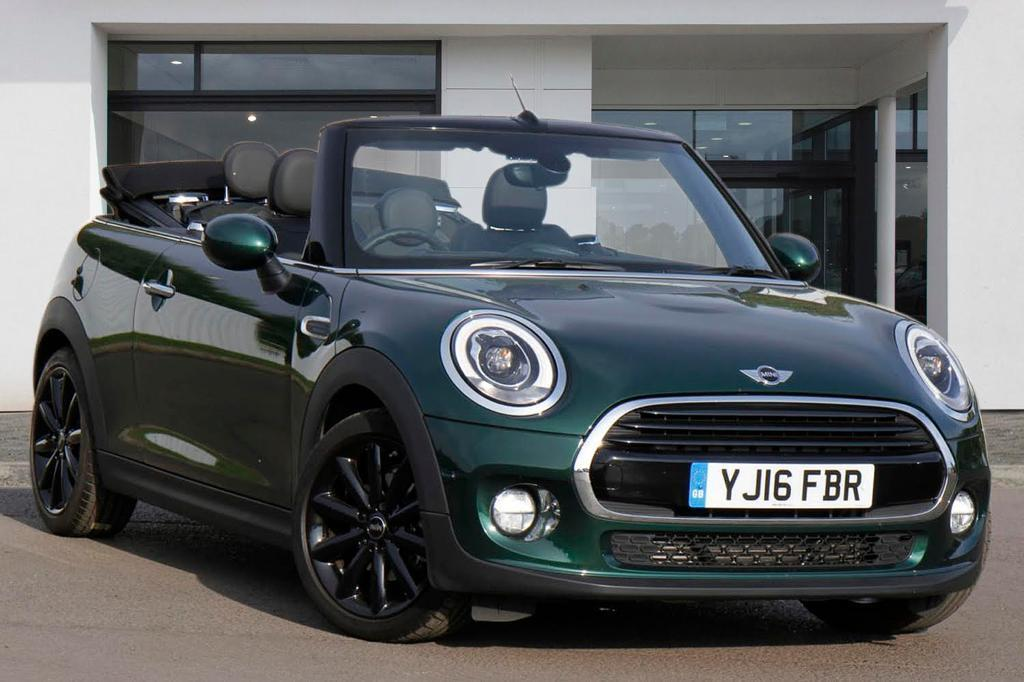 MINI CONVERTIBLE COOPER D (british Racing Green) 2016