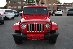 2016 Jeep WRANGLER UNLIMITED Sahara CERTIFIED & E-TESTED!**FALL