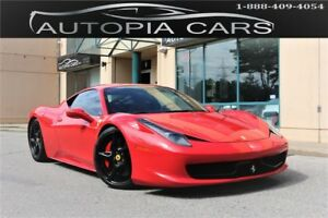 2010 Ferrari 458 Italia 562 HP DUAL CLUTCH TRANSMISSION NO ACCID