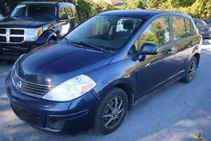 2008 Nissan Versa 1.8S A/C VITRES ET MIROIRS ÉLECTRIQUES