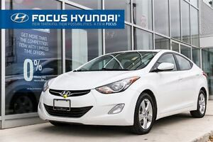 2013 Hyundai Elantra GLS - SUNROOF, HEATED SEATS, BEST PRICE