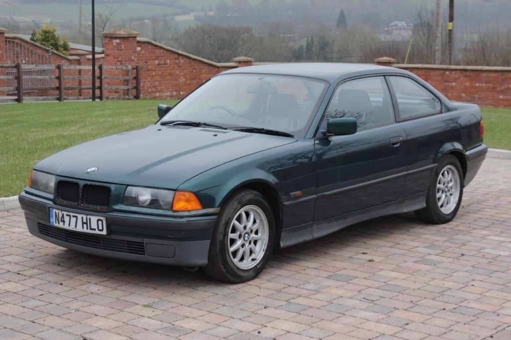 1996 E36 BMW 318iS 3 Series Coupe, Green, Leather Interior   in ...