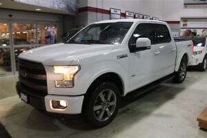 2015 FORD F-150 4X4 SUPERCREW - LEATHER - LOW FINANCE RATES