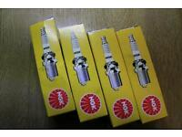 4 NGK-R Spark plugs (new)