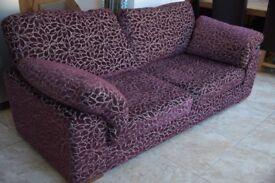 Very comfortable sofas