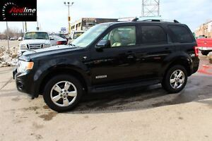 2008 Ford Escape Limited 3.0L 4X4 HEATED LEATHER-SUNROOF