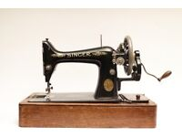 Singer 99K Vintage Sewing Machine Hand Crank Sewing machine