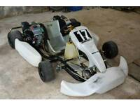 Pro Kart - Twin GX200 Engines - Solo Chassis