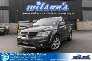 2016 Dodge Journey RT AWD! 7-PASS! LEATHER! HEATED STEERING+SEAT