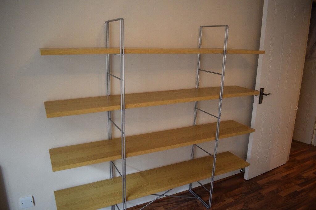 huge selection of 76d85 494a6 Details about IKEA Enetri Free-Standing Shelving Unit, Light Oak Shelf  Shelves 170x158x33cm | in Kingsbury, London | Gumtree