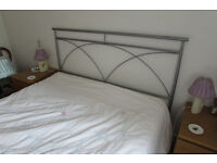 King size bed metal frame