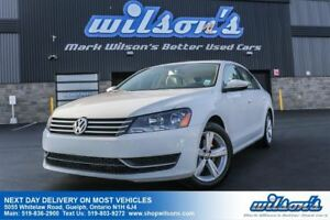 2012 Volkswagen Passat COMFORTLINE LEATHER! SUNROOF! HEATED SEAT