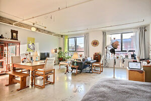 LOFT MEUBLÉ MILE-END PLATEAU - FURNISHED LOFT MILE-END