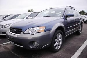 2006 Subaru Outback 2.5i, Auto, AWD, Heated Seats, Sunroof, Wint