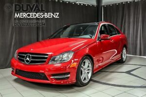 2014 Mercedes-Benz C-Class C300 4MATIC / TOIT PANORAMIQUE